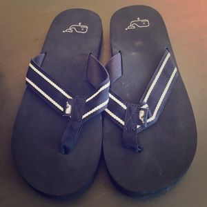 Mens Vineyard Vines Flip Flops size 9 NEW